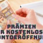 Girokonto mit Prämie (auch ohne Gehaltseingang)