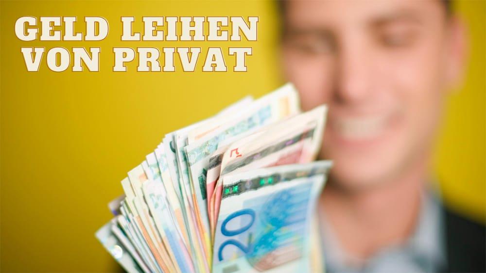 geld leihen privat